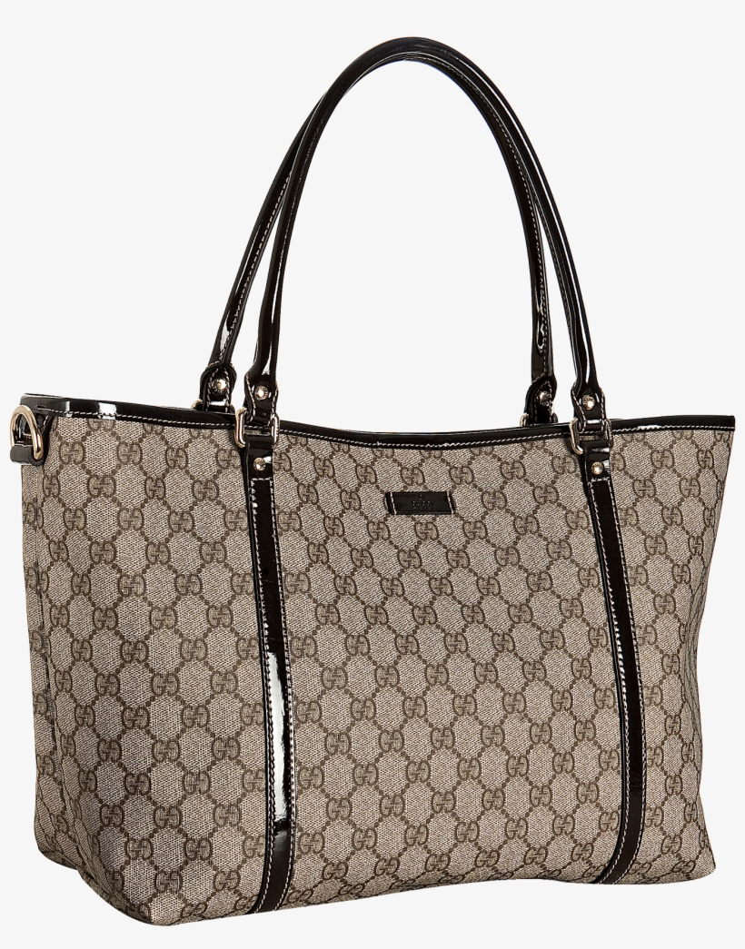 3960e9fa8fb Check Out Gucci Dark Brown Gg Plus Joy Medium Tote - Gucci Saddle ...