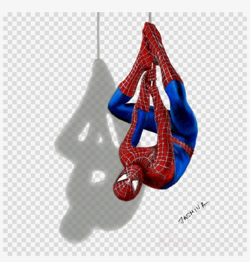 Download Spiderman Black And White 3d Clipart Spider-man - Draw 3d Drawings: With Colored Pencils Only, transparent png #4505600