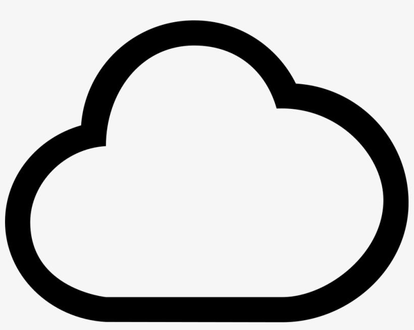 Cloud Outlined Shape Amazon Cloud Free Transparent Png