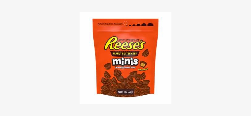 Reese Peanut Butter Spread Calories [26] - Reese's Peanut Butter Cups Mini, transparent png #4521532