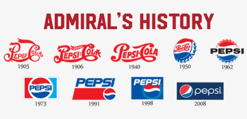 History Admiral Png Pepsi History - Pepsi Cola, Cherry Vanilla - 12 Pack, 12 Fl Oz Cans, transparent png #4537968