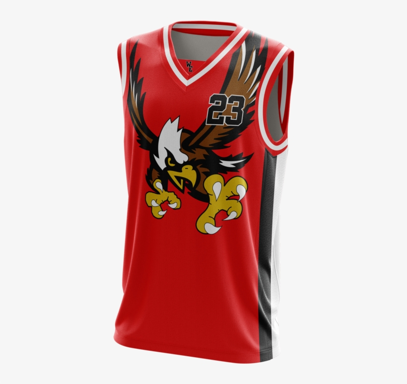 Western Eagles Basketball Jersey - Uniforms Eagles Jersey Basketball, transparent png #4538702