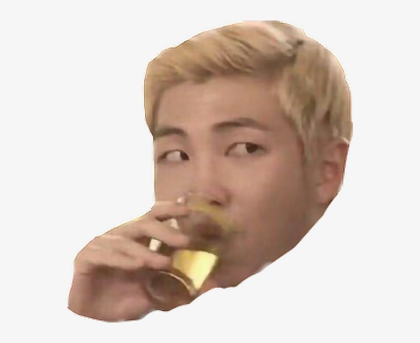 Remixit Rapmonster Bts Meme Face Rm Namjoon Kpop - Rap Monster Meme Face, transparent png #4538852