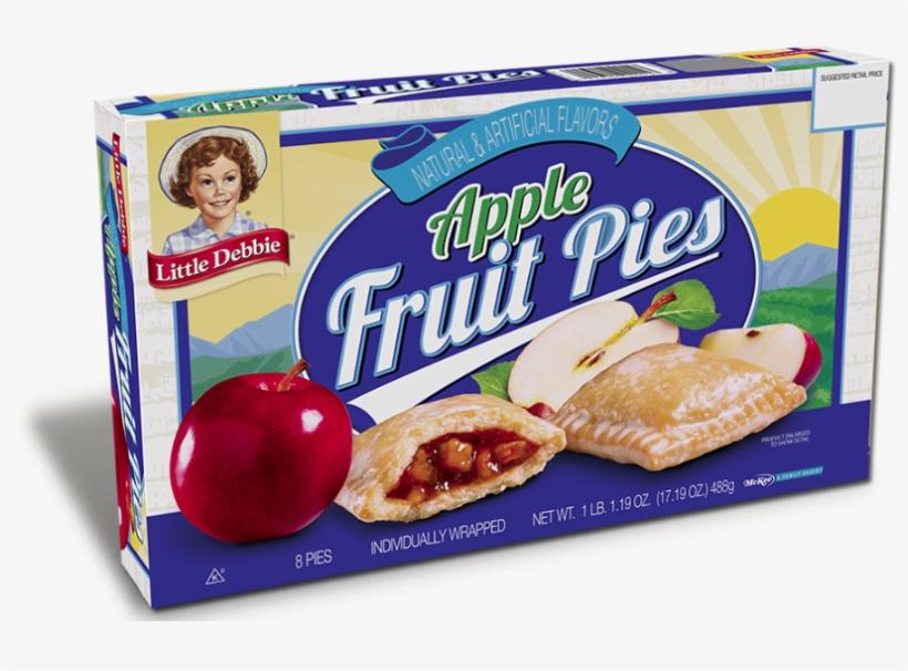 All Pies - Little Debbie Apple Fruit Pie, transparent png #4541598