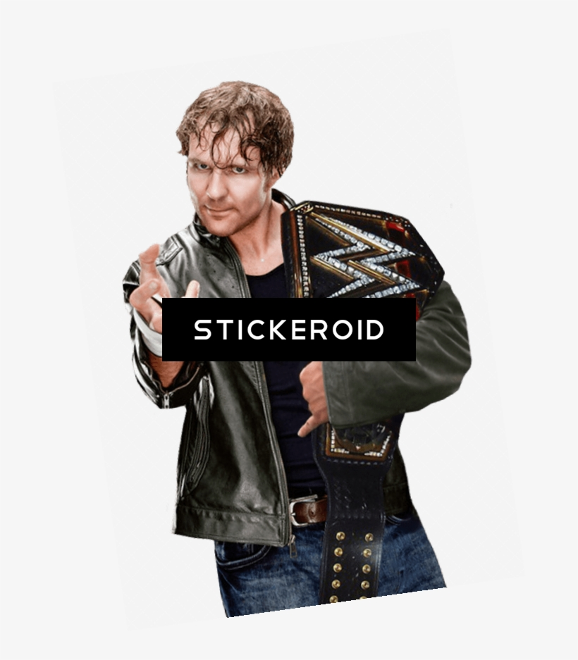 Dean Ambrose Leather With Belt - Wwe - Ambrose (tazza) Merchandise, transparent png #4542086