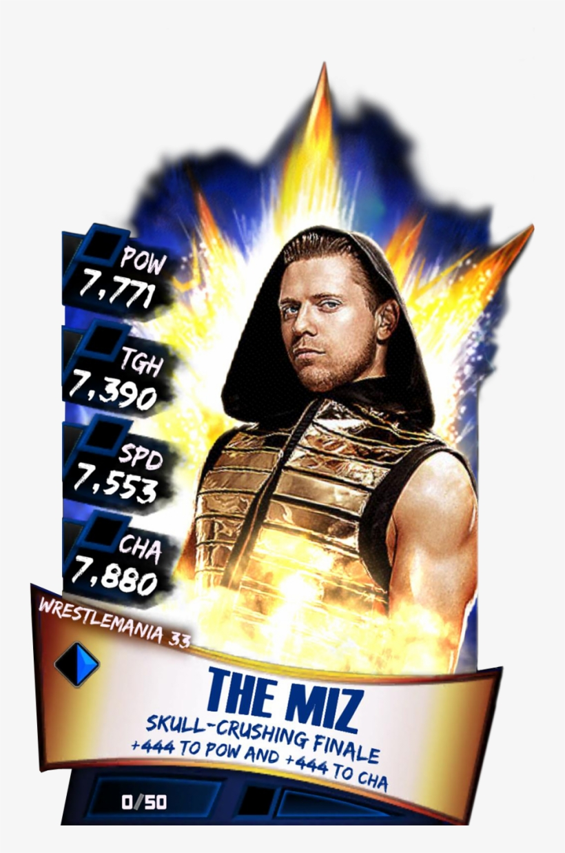 Legendary Themiz - Wwe Supercard John Cena Wrestlemania 33, transparent png #4544151