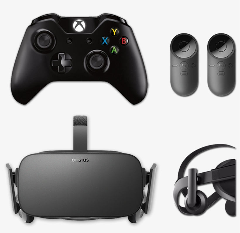 Oculus Rift Cv1 - Microsoft Xbox One With Kinect - 500 Gb - Black, transparent png #4547800