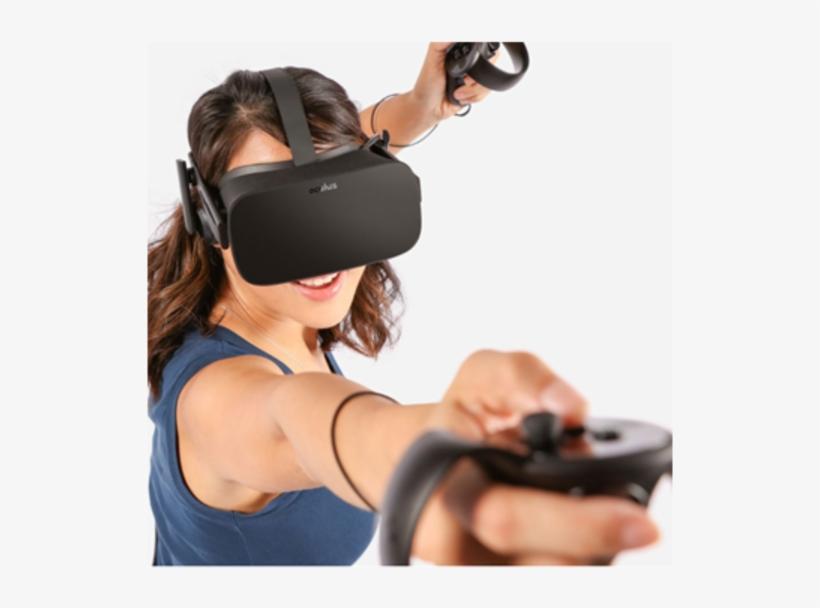 2 Oculus Touch - Oculus Rift, transparent png #4548407