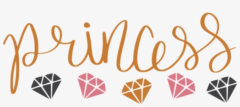 Princess, Diamonds, Svg, Queen - Gold Glitter Princess, transparent png #4550730