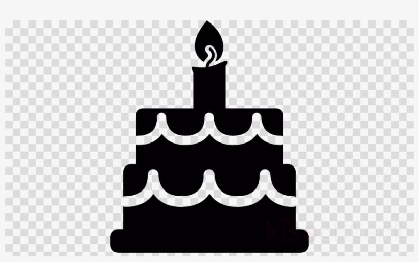 Birthday Cake Silhouette Png Clipart Birthday Cake - Black ...