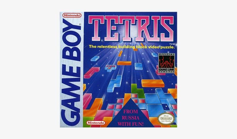 Si Hubo Un Juego Que Marcó La Historia Del Game Boy - Tetris Game Boy Case, transparent png #4556884
