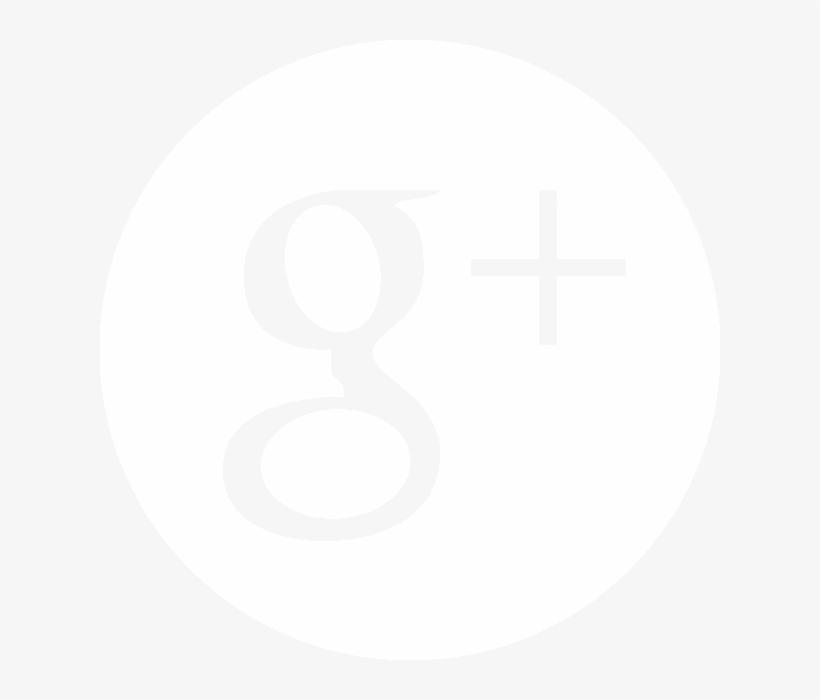 Twitterblanc Googleplusblanc - Google Plus Icon Psd, transparent png #4558396