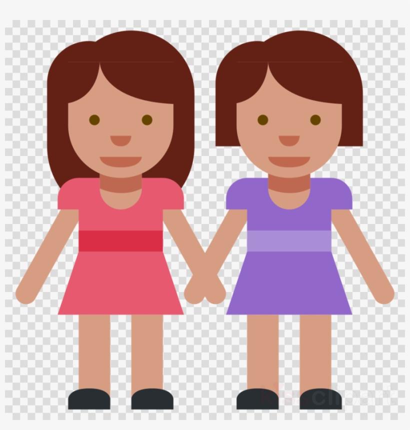 Boy And Girl Holding Hand Emoji Clipart Emoji Holding - Boy And Girl Emoji Png, transparent png #4559620