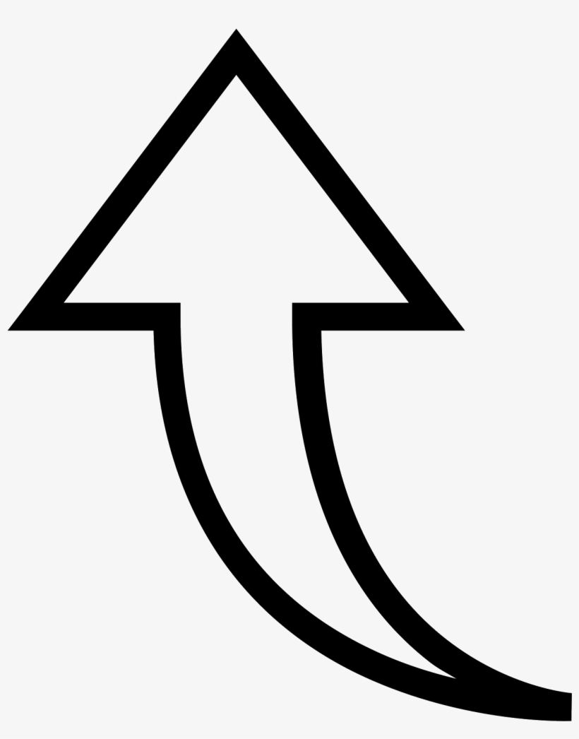 Up 3 Icon - Png Arrow Pointing Up, transparent png #4562076