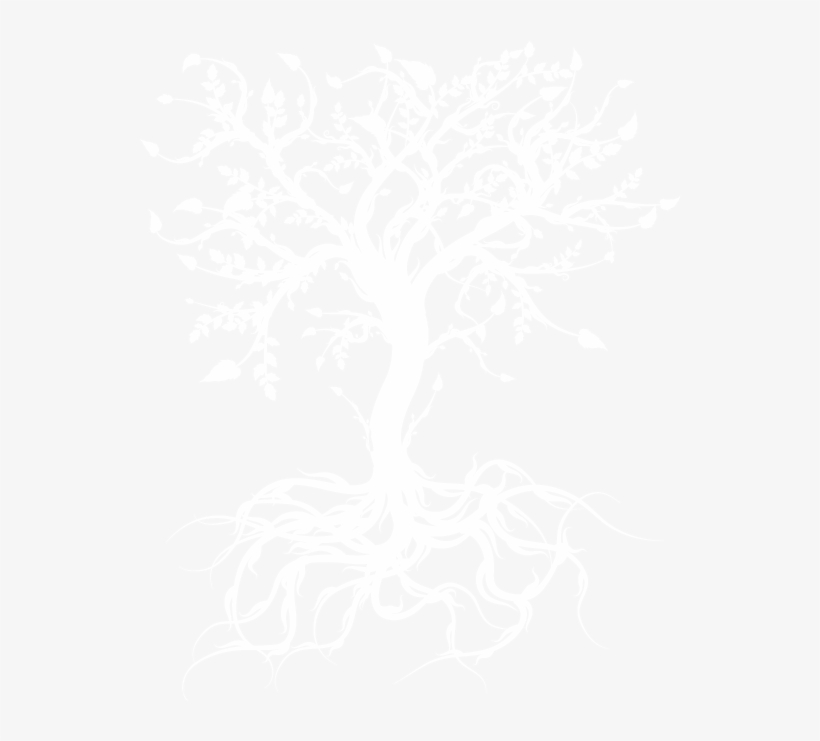 White Tree Painting Transparent, transparent png #4571944