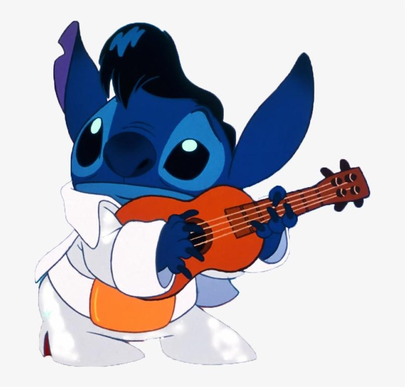Lilo Y Stitch Stitch De Elvis Presley Free Transparent Png