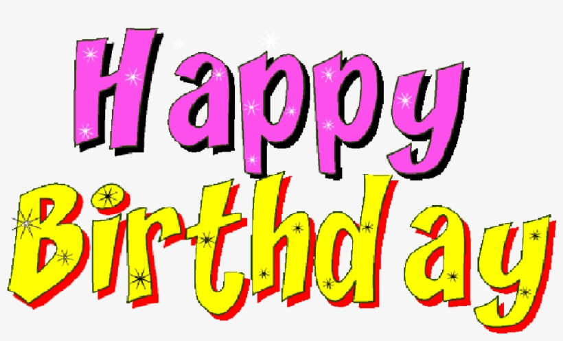Graphic Freeuse Stock Free Animated Happy Birthday - Download Animated Gif Happy Birthday, transparent png #4580497