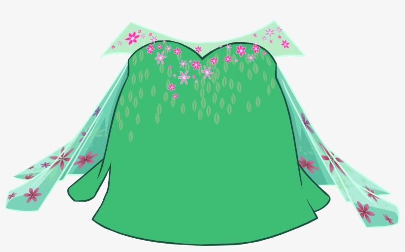 Elsa's Spring Dress Icon - Codigos De Free Penguin Frozen Fever, transparent png #4584061