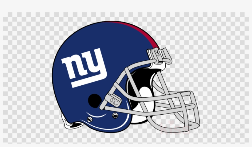 Download New York Giants Helmet Logo Clipart New York - Go New York Giants, transparent png #4584837