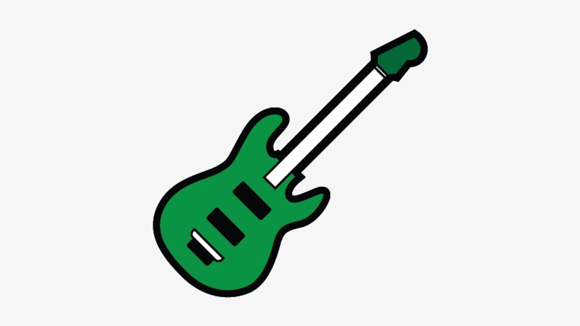 Select Downloaded Stickers And Save Into The New Album - Bass Guitar Emoji Transparent, transparent png #4585556