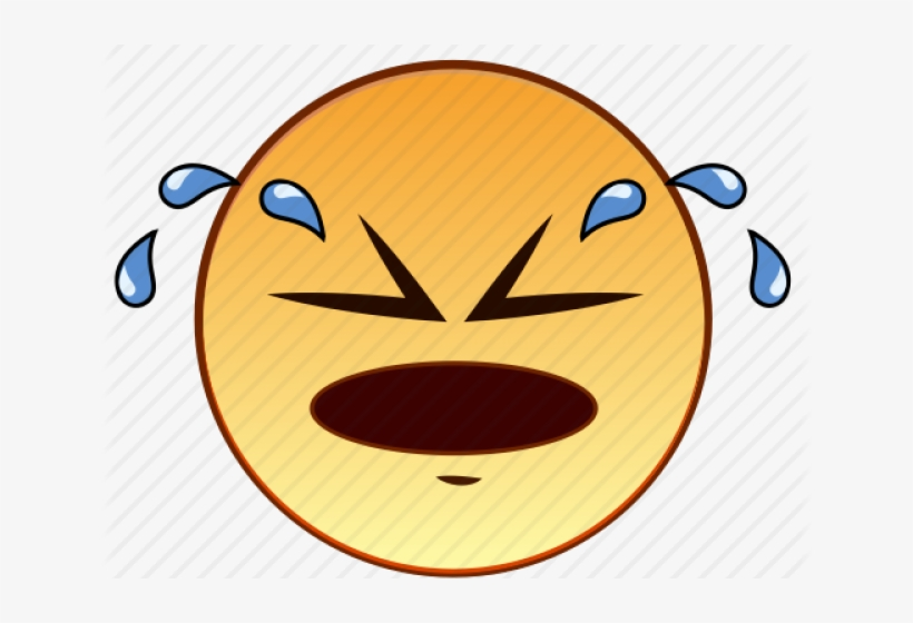 Crying Face Emoticon - Emoticon Cry Smiley Png, transparent png #4587138
