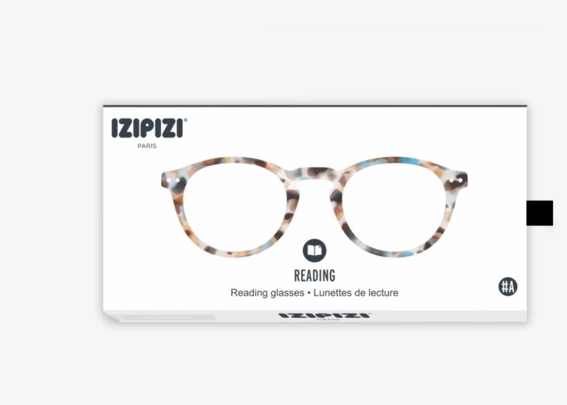 Letmesee - Izipizi-reading Glasses - #c Reading Glasses - Blue, transparent png #4590743