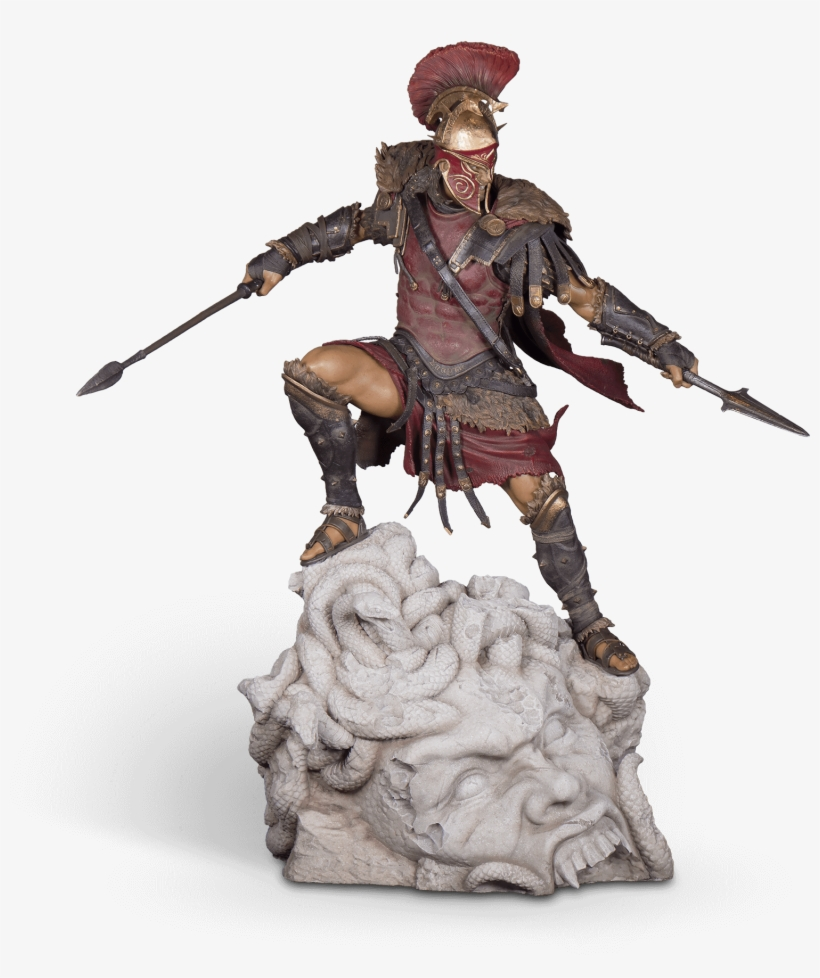 Alexios Legendary Figurine - Assassin's Creed Odyssey Alexios Figurine, transparent png #4591807