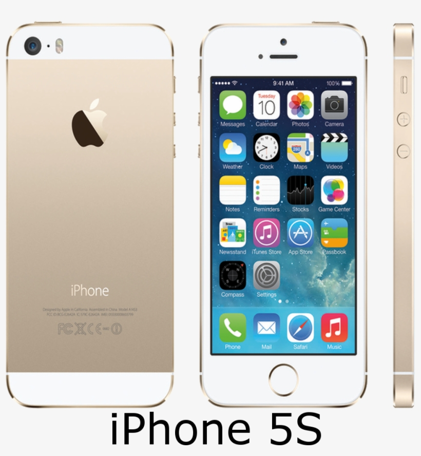 Iphone Repair In Oxford, Iphone 3g Repair In Oxford,iphone - Apple Iphone 5s - 16 Gb - Gold - Unlocked, transparent png #4591863