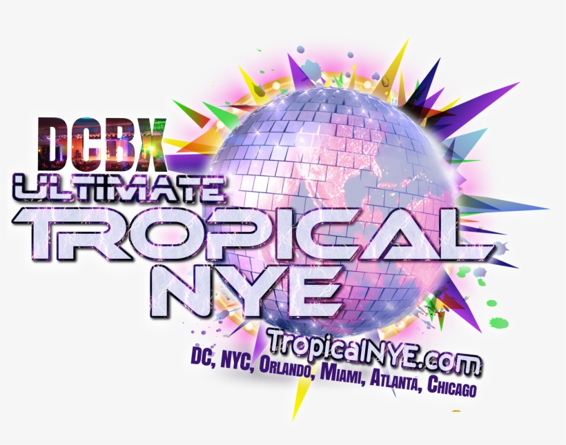 Dcbx's 6th Annual Ultimate Tropical New Year's Eve - Washington, D.c., transparent png #460404
