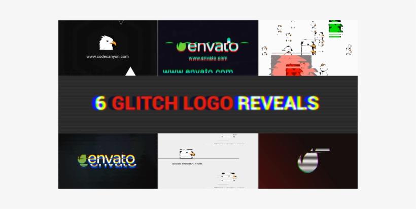 Glitch Logo Pack After Effects Templates - Gestão De Riscos