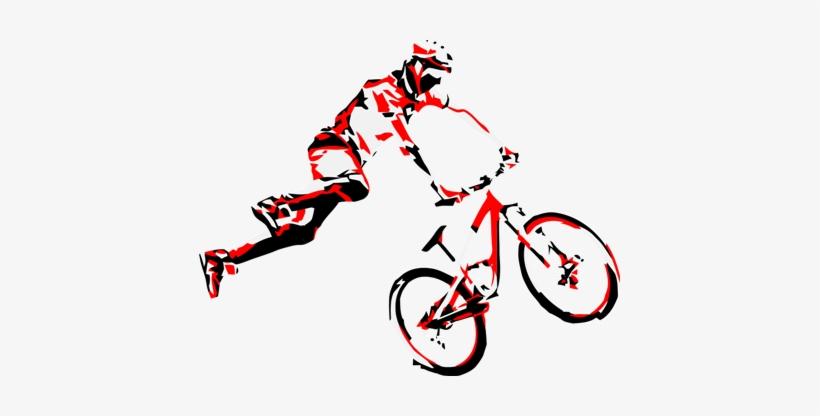 Mountain Biking Clip Art - Mountain Bike Vector, transparent png #462621