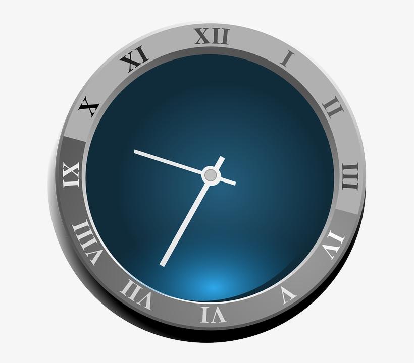 Clock, Roman Numerals, Time, Roman, Hour, Dial, Antique - Clock Clip Art, transparent png #463024
