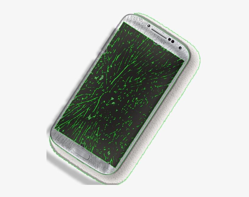 Broken Glass Repair - Mobile Phone, transparent png #463282