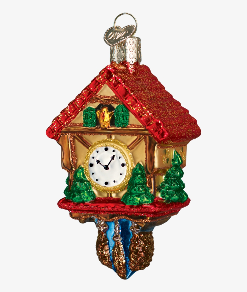 Old World Christmas Cuckoo Clock Old World Christmas - Old World Christmas Cuckoo Clock, transparent png #463543