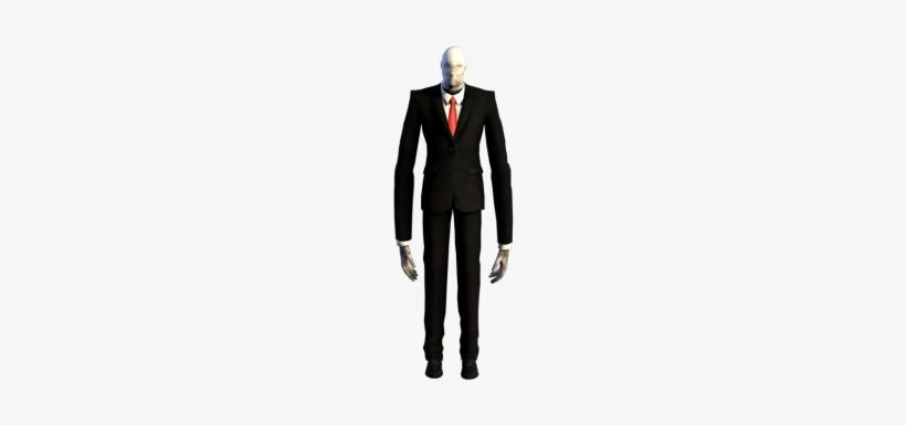 Slender Man - Slender The Arrival Slender Man Model, transparent png #464310