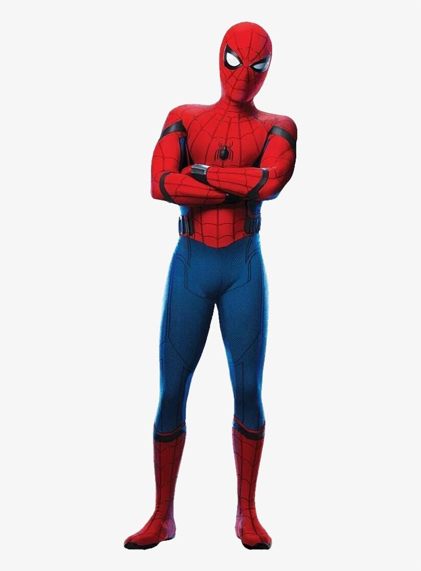 Spider-man Key Art Render - Spider Man Homecoming Spiderman, transparent png #465660