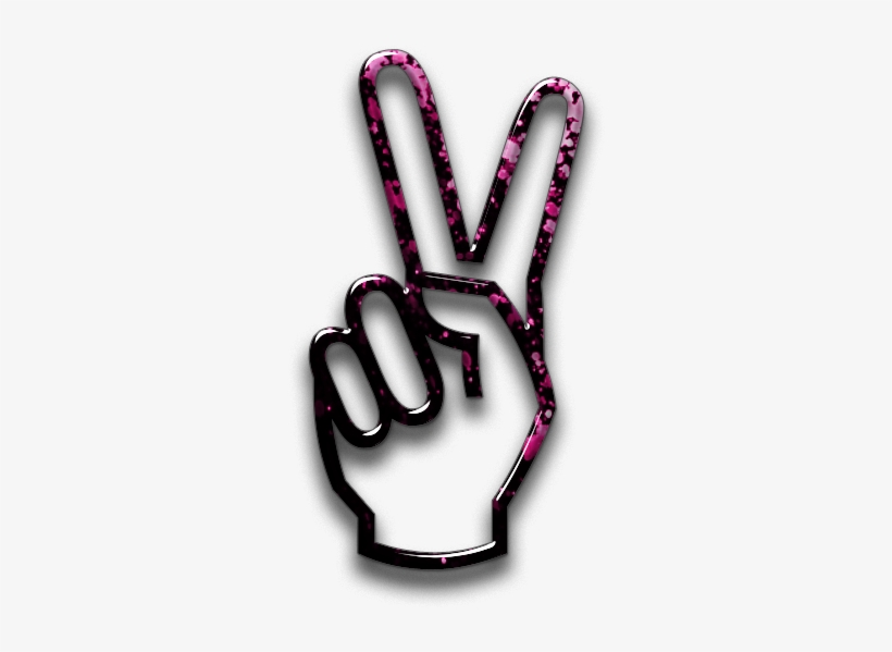 Png Format Images - Peace Sign Hand Png, transparent png #467281
