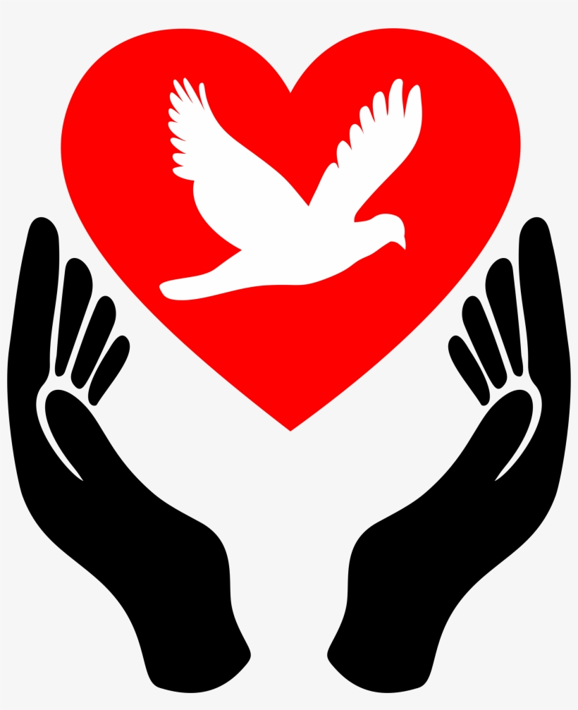 Big Image - Símbolos De Paz E Amor, transparent png #467635