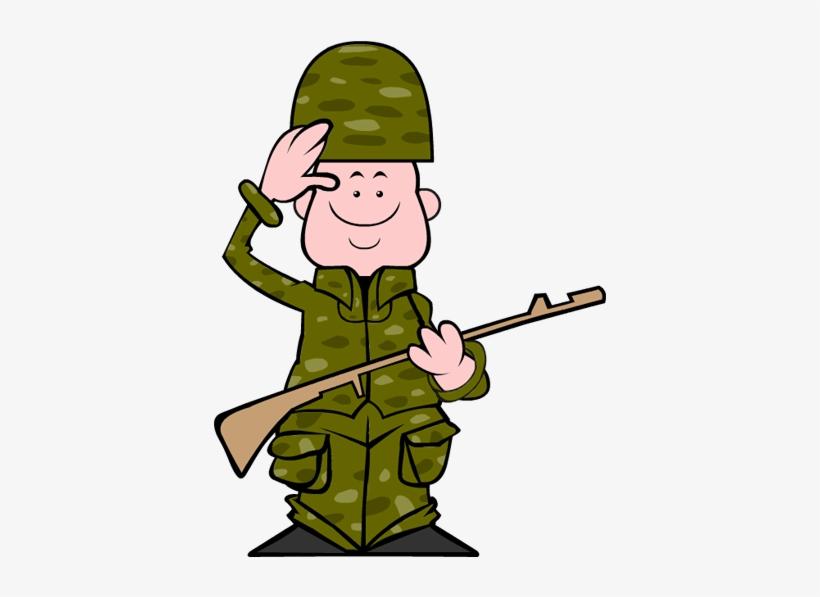 Прикольный рисунок военного, открытка