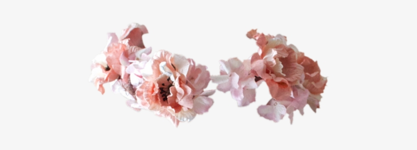 Tumblr Transparent Flower Crown Download - Flower Crown Meme, transparent png #468929