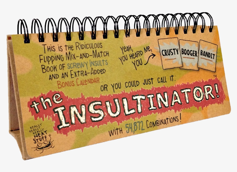 Browse The Store - Insultinator Xxx 1/2: A Mix, transparent png #4606015