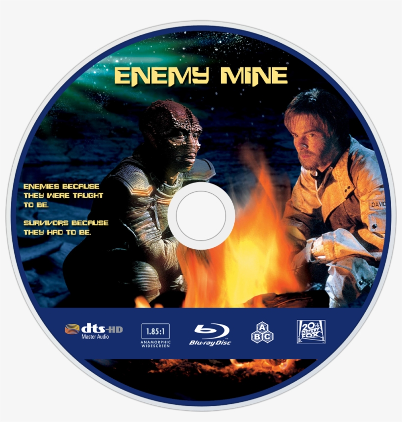 Enemy Mine Bluray Disc Image - Blu-ray Disc, transparent png #4606699