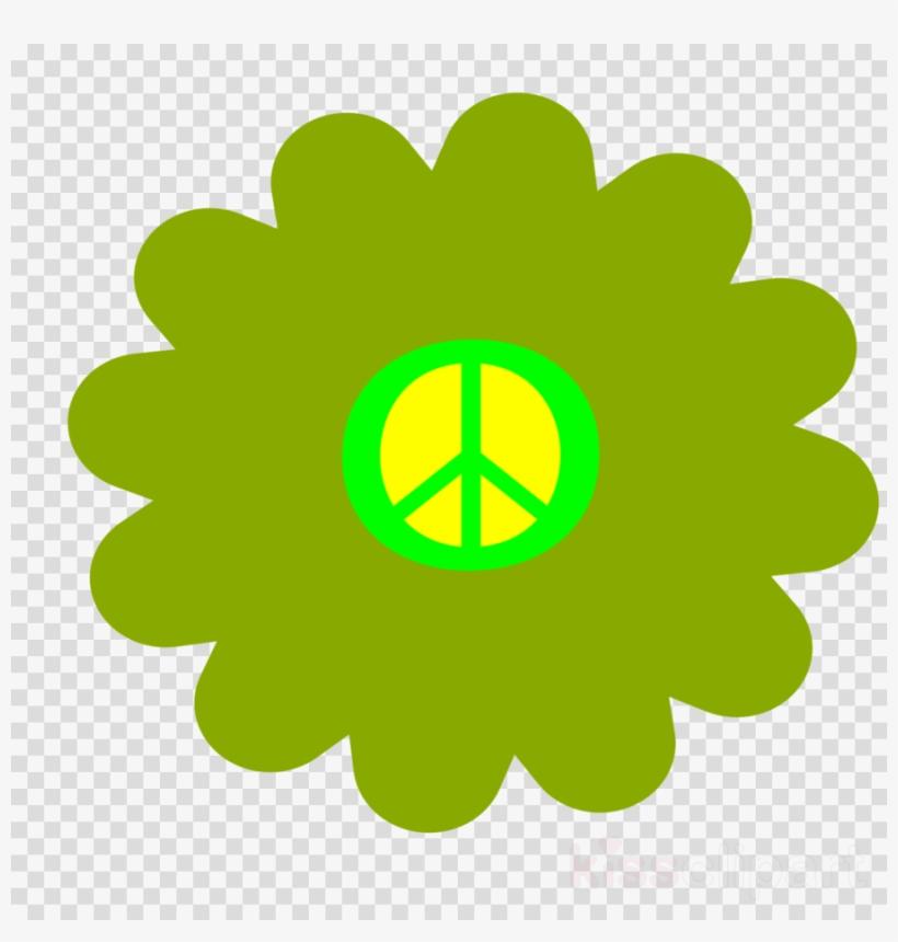 Flower Hippie Png Clipart 1960s Flower Power Clip Art - Flower Power Hippie Flowers, transparent png #4609231