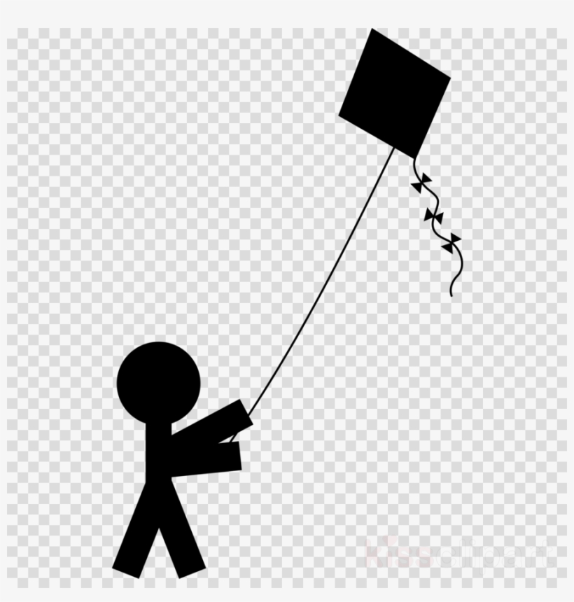 Download Kite Silhouette Png Clipart Kite Clip Art - Glowing Transparent Light Bulb Png, transparent png #4613600