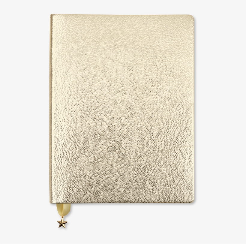 All That Glitters Journal Metallic Light Gold - Go Stationery All That Glitters, transparent png #4623864