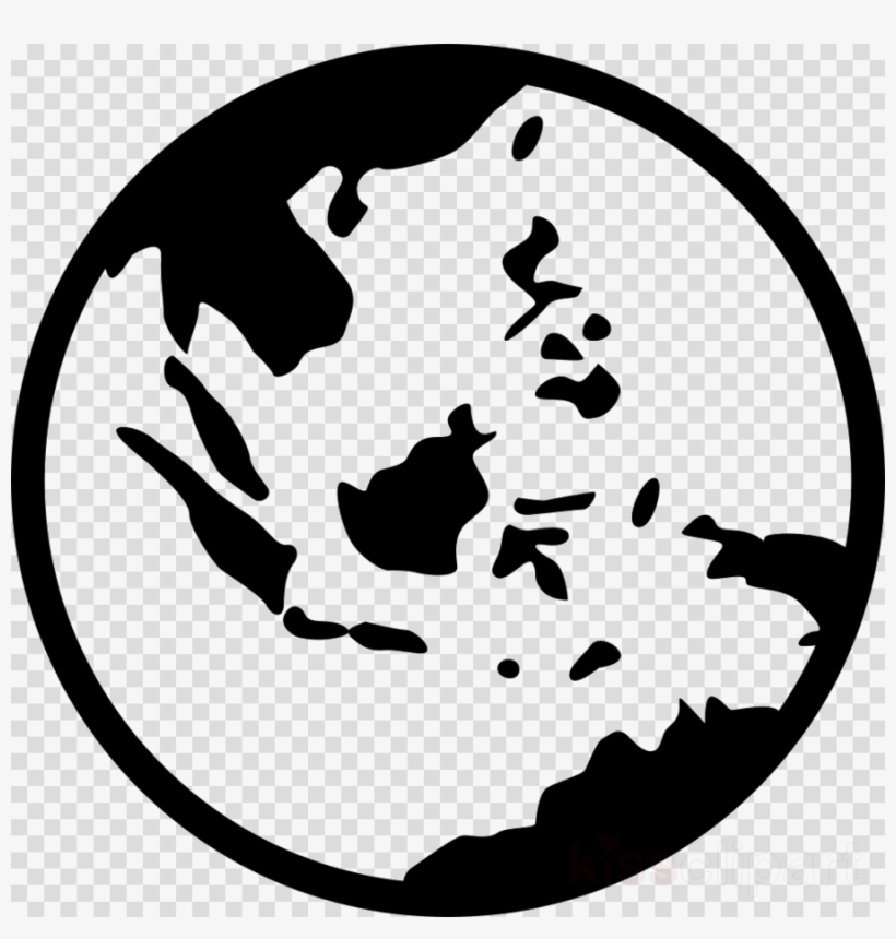 World Map Clipart World Map Globe - South East Asia Map Icon, transparent png #4624028