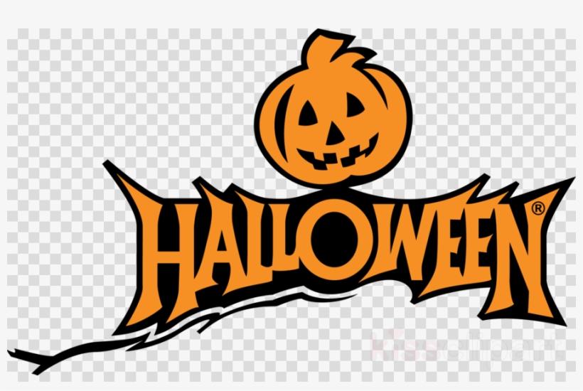 Download Halloween Logo Png Clipart Jack O' Lantern - Pumpkin Halloween Clipart Png, transparent png #4627162