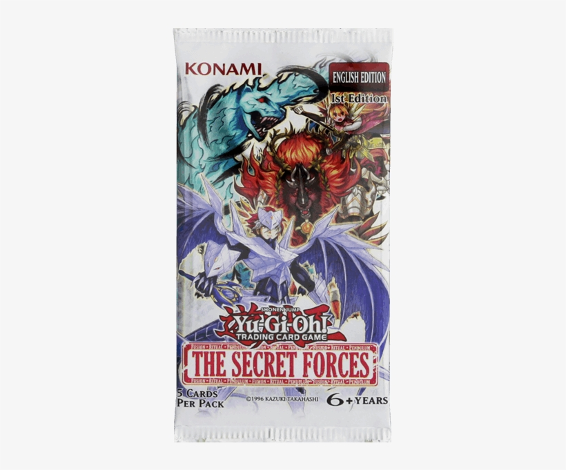 1 Of - Yu-gi-oh! The Secret Forces Booster Pack, transparent png #4627755