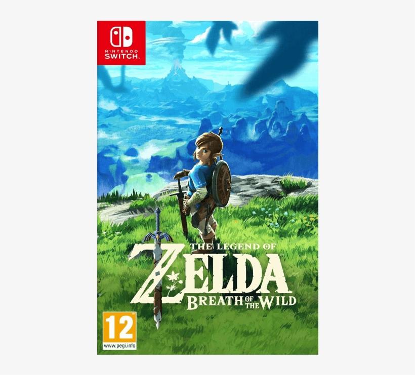The Legend Of Zelda Breath Of The Wild - Nintendo The Legend Of Zelda: Breath, transparent png #4630290