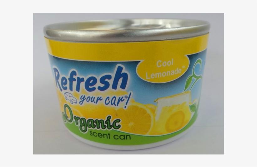 Refresh Cool Lemonate - Handstands Refresh Your Car Organic Can- Lemonade, transparent png #4630435